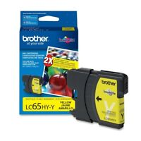Brother LC65HYY Brother High Yield Yellow Ink Cartridge - Yellow - Inkjet - 750