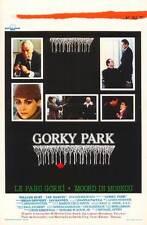 GORKY PARK Movie POSTER 11x17 Belgian William Hurt Lee Marvin Brian Dennehy