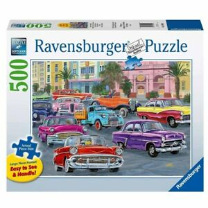Ravensburger - Cruis'in Jigsaw Puzzle 500pc Large Format
