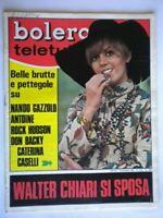 Bolero 1075 Caselli Gazzolo Antoine Hudson Backy Chiari Bardot Mina Cetra Ferrer