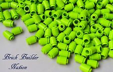 ☀️Lego 1x1 LIME GREEN Round Brick x100 Stud Part Piece Bulk Lot Legos # 3062b