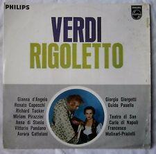Verdi Rigoletto Highlights : Gianna d'Angelo, Richard Tucker,RARE vinyl LP