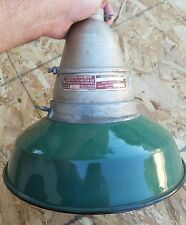 """12 """"  Crouse Hinds Industrial Lights Explosion-Proof Green Enamel Glass Globes"""
