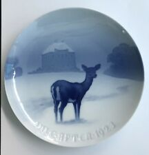 1923 Bing & Grondahl Christmas Plate - The Royal Hunting Castle