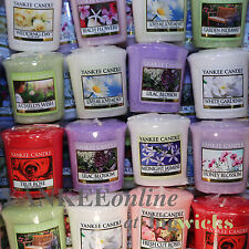 Yankee Candle Floral Votive Samplers X 10  Mixed
