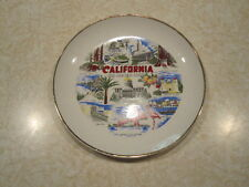Vintage Souvenir Collector California State Plate 7 inch