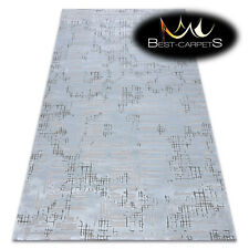 "SOFT AMAZING ACRYLIC RUGS ""DIZAYN"" 8840 light blue Thick exclusive HIGH QUALITY"