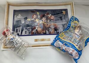 TOY STORY 2: Woody & Jessie Candy Dispensers PLUS Poster & Toy Give-aways SEALED