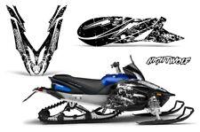 Yamaha APEX Decal Wrap Graphic Sticker Kit Sled Snowmobile 2012-2016 NIGHTWOLF W
