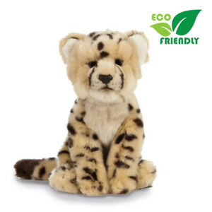 Living Nature Cheetah Cub Stuffed Plush Animal Toy 25cm **FREE DELIVERY**