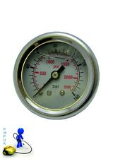 Pressure Washer Pressure Gauge 0-160 Bar 2300 Psi Plastic Body Glycerine Filled