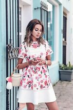 NEW Kate Spade New York Briley Floral Print Fit & Flare Flounce Skater Dress$789