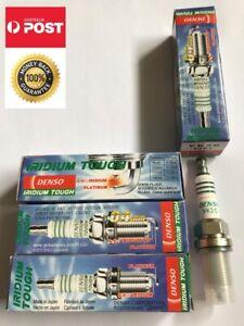 4 x Genuine Denso Iridium VK20/5604 Spark Plug for Toyota Camry, Tarago, Alphard