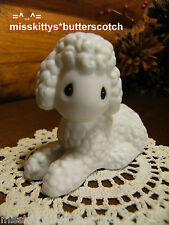 Precious Moments~NATIVITY~White LAMB looking left~104523~DEALERs Only Set~ob~lyg