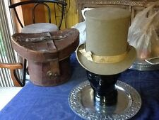 Rare True Vintage CollectorsTall Top Hat Early 1900s Size 7