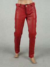1/6 Phicen, Hot Toys, Kumik, Vogue Female Burgundy Red Slim-Fit Leather Pants