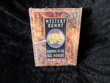 Mystery Rummy Case #2 Murders in the Rue Morgue in shrinkwrap