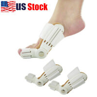 USA 2X Big Toe Bunion Straightener Splint Corrector Valgus Relief Pain Foot Care