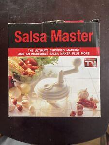 Salsa Master Salsa Maker Food Chopper Mixer and Blender As Seen On TV