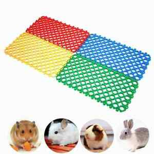 1PCS Pet Summer Mat For Cats And Dogs Grid Mat For Small Animals