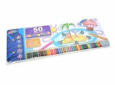I bambini di latta 50 Colori Disegno Schizzi Matite Arcobaleno Metallico GRANDE REGALO t50