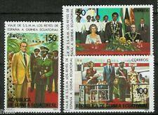 Equatorial Guinea Equatorial Edifil #27/29 MNH Visit of the Kings of Spain