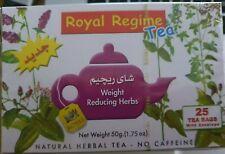 Royal régime thé faite avec des herbes pour perte de poids minceur, Detox santé ...