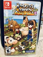 NINTENDO SWITCH HARVEST MOON LIGHT OF HOPE SPECIAL EDITION BUILD SIM LIFE CREATE