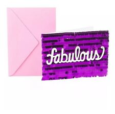 Hallmark Signature Birthday Greeting Card Fabulous