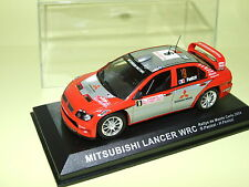 MITSUBISHI LANCER WRC RALLYE DE MONTE CARLO 2004 PANIZZI ALTAYA 1:43
