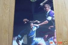 BRANDI CHASTAIN SOCCER SIGNED PHOTO WITH MIA HAMM COA