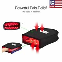 DGYAO LED Red Light Infrared Therapy Box Hand Finger Pain Relief Gift for Mom