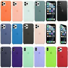 Original Silicone OEM Case Cover For Apple iPhone 11 Pro Max XR XS 7 8 Plus