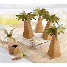 Kate Aspen 24 Palm Tree Favor Box Set Of 24 Wedding Beach Theme 28055NA  Boxes