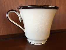 """Authentic Lenox China 3"""" Footed Cup Moonspun Design Made in USA"""