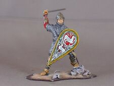 St Petersburg Medieval Man-at-arms armored 54mm model medal figure war knight