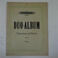 DUO ALBUM for harmonium & piano , band 3 , peters 2911c , arr reinhard