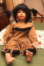 "Kelly RuBert ""Honey Bee"" Native American Porcelain Doll"