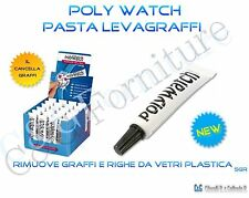 Polywatch pasta togligraffi e righe da vetri plastica esalite orologi orologiaio