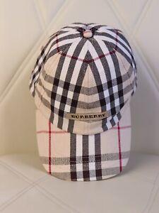 Burberry Vintage Beige Nova Check Cap One Size