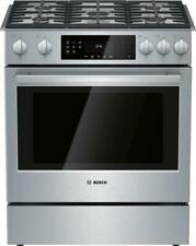 Bosch 30 Inches Slide-In Gas Range Convection Technology Hgi8056Uc Images