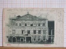 Fotokarte - Horn / NÖ - Amtsgebäude - gel 1901     m3