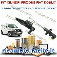 KIT CILINDRO FRIZIONE FIAT DOBLO' 1.9 DIESEL JTD 1900 TRASMETTIORE + SECONDARIO