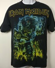 Iron Maiden Somewhere In Time T Shirt M Medium Hanes Vintage Style 2008 2 Sided