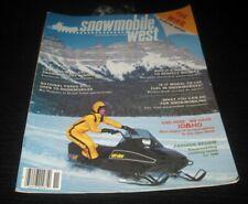 Vintage Snowmobile west 1979 arctic cat ski doo polaris yamaha Kawasaki