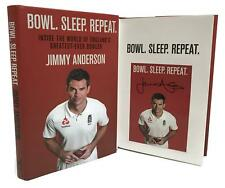 Signed Book - Bowl. Sleep. Repeat. by Jimmy Anderson First Edition, 1st Print