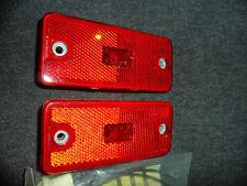 Astre Sunbird Vega Opel Rear Red Side Marker Lights Clearance Lights Lamps NOS