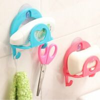 Kitchen Bathroom Sponge Sink Tidy Holder Rack Suction Strainer Cutlery Storage#1