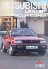 MITSUBISHI Lancer Combi PROSPEKT 1/87 brochure 1987 auto automobili Giappone Asia