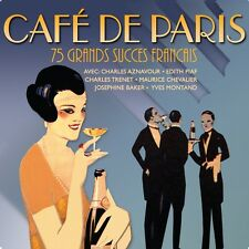 Cafe De Paris VARIOUS ARTISTS Best Of 75 French Songs ESSENTIAL Music NEW 3 CD